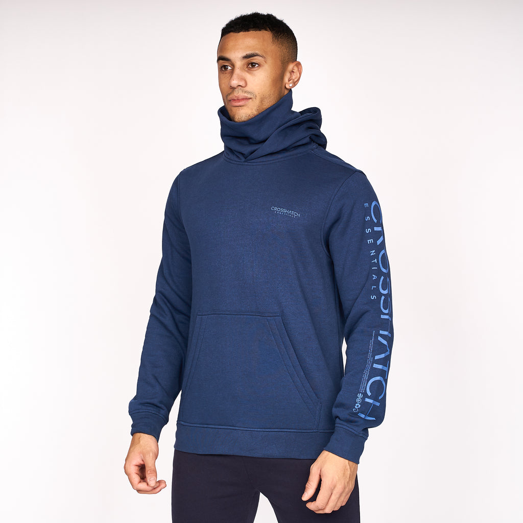 Snoodneck Hoodie Insignia Blue