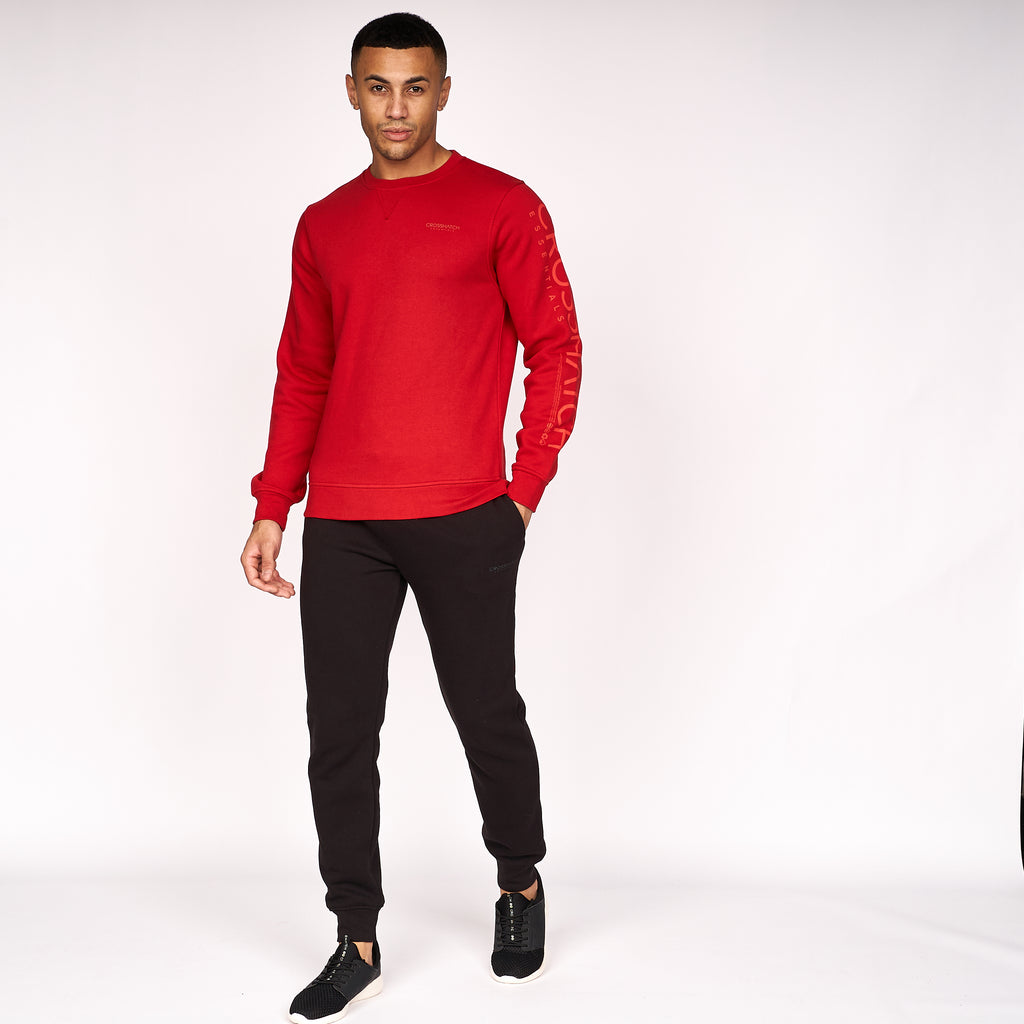 Cruetime Crew Sweat Haute Red