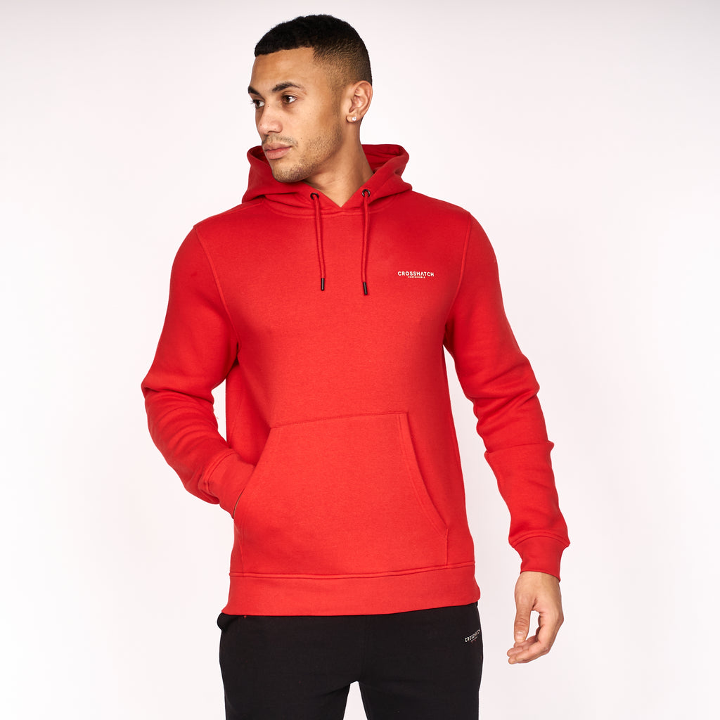 Traymax Hoodie 2pk Red/Charcoal