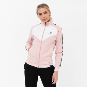 Ladies Cleona Tracktop Xs / Pink Hoodies
