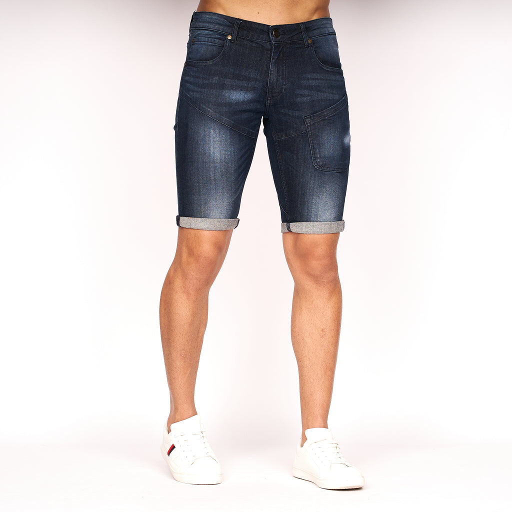 Battle Shorts Dark Wash