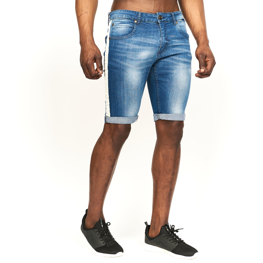 Playmore Denim Shorts Stone Wash