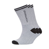 Kickoff Sports Socks 3pk - Grey Marl