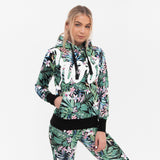 Ladies Delores Hoodie Xs / Flowers Hoodies