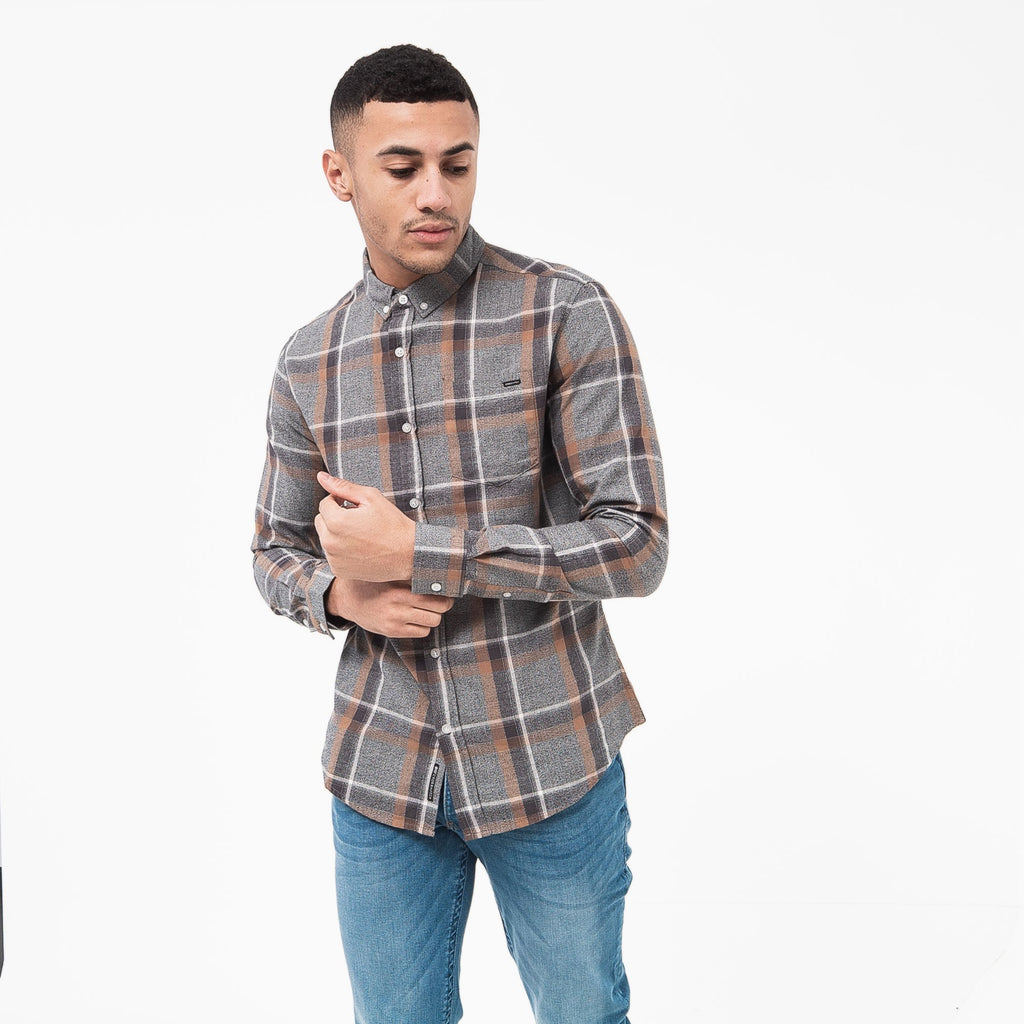 Klaxan Shirt S / Grey Check Shirts