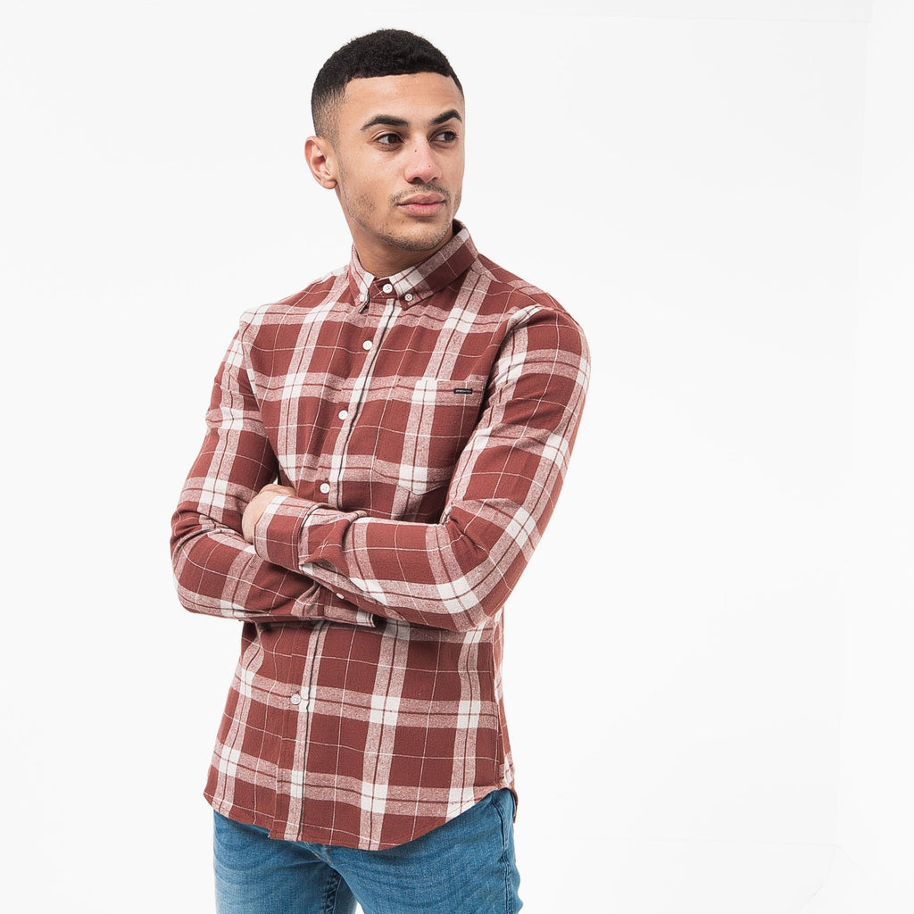 Hilmas Shirt S / Red Check Shirts