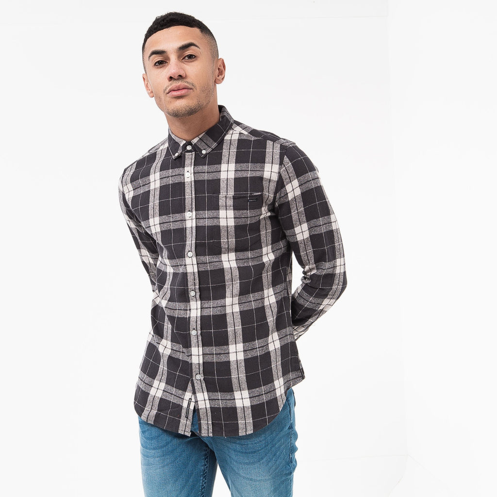 Hilmas Shirt S / Charcoal Check Shirts