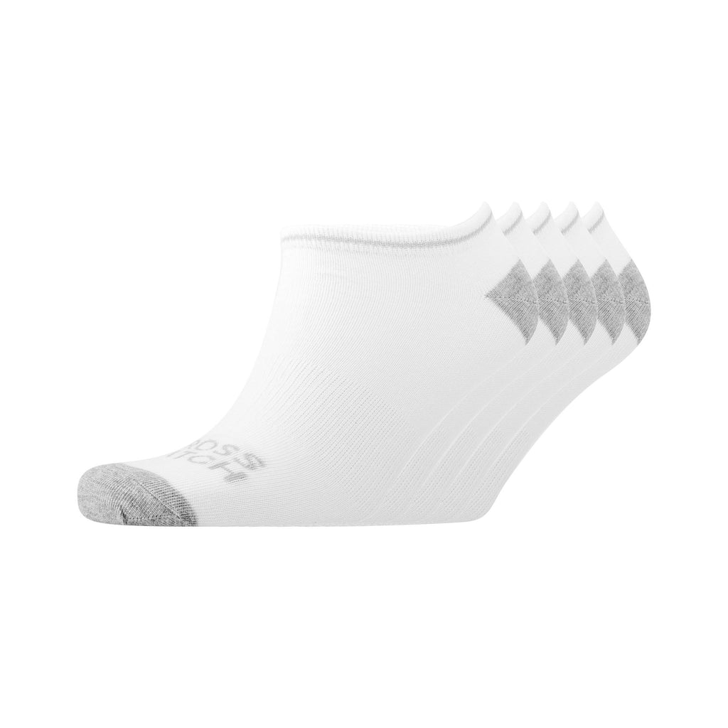 Tarsus Trainer Socks 5Pk - White/grey Marl Underwear