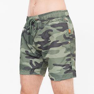 Flingcross Swim Shorts S / Olive Camo
