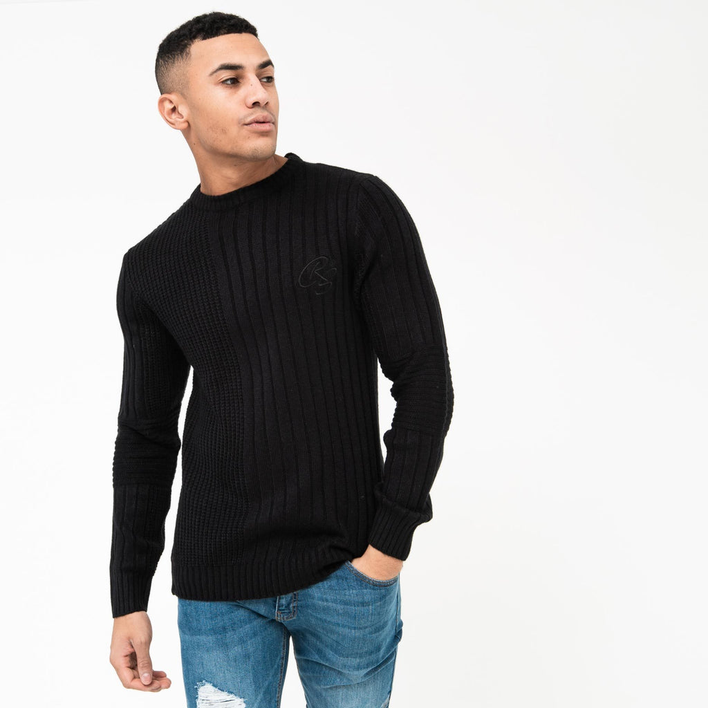 Glades Knit S / Black Knitwear