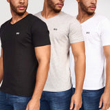 Gillan V-Neck T-Shirts 3pk Assorted