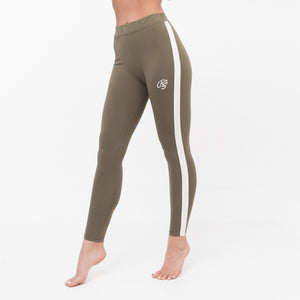 Ladies Lucys Leggings Xs / Dusty Olive