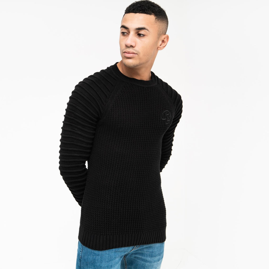 Netherbie Knit S / Black Knitwear
