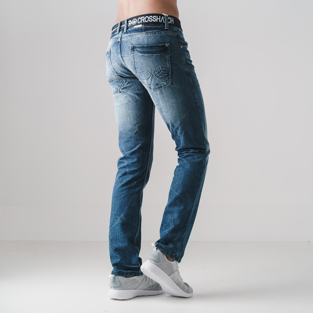 New Embossed Techno Jeans