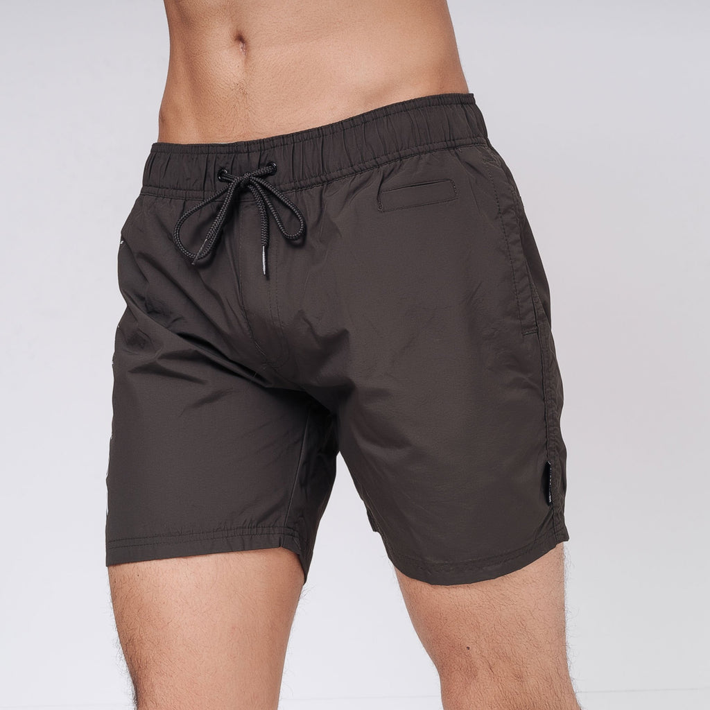 Pedro Swim Shorts S / Peat Green