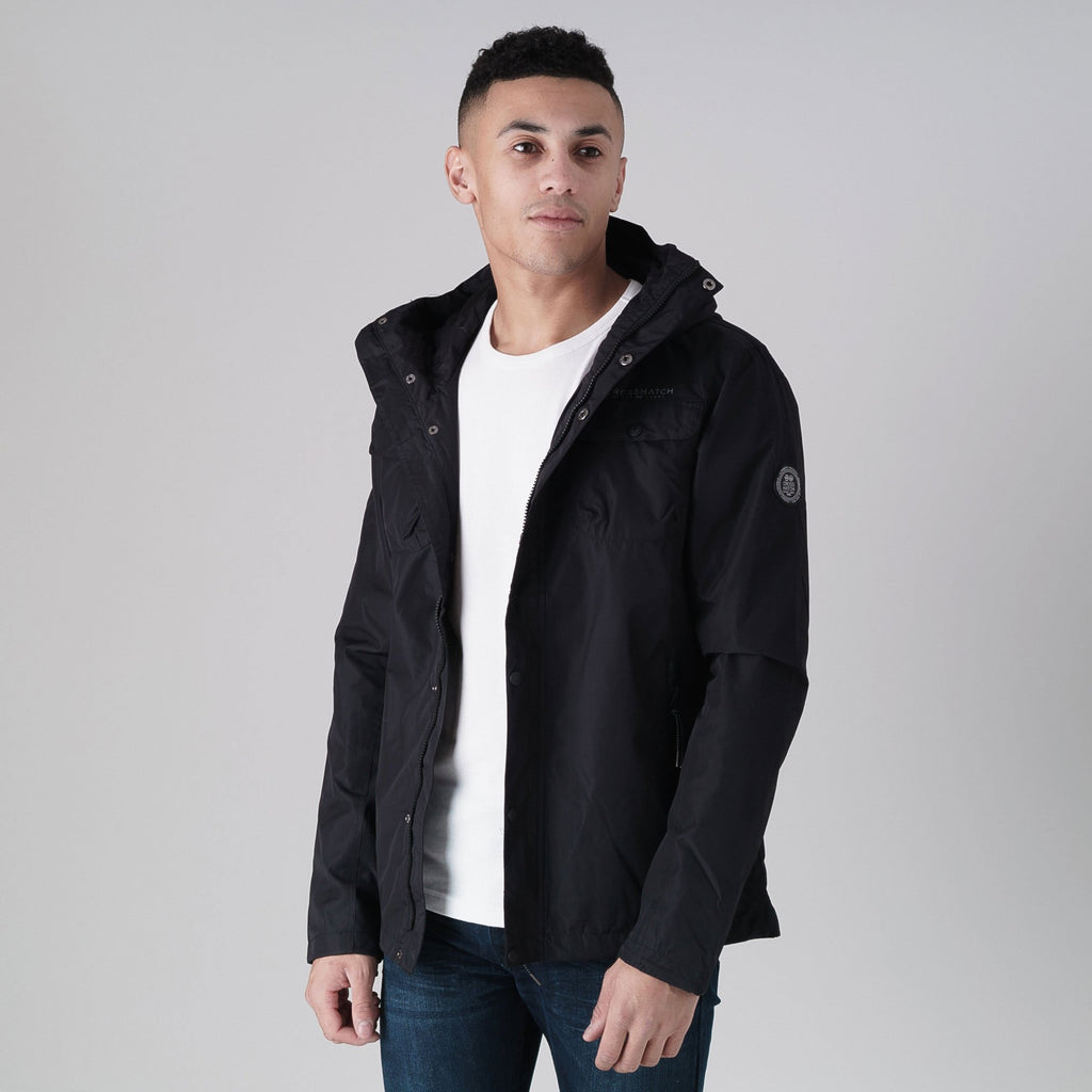 Rainout Mve Jacket M / Black Outerwear