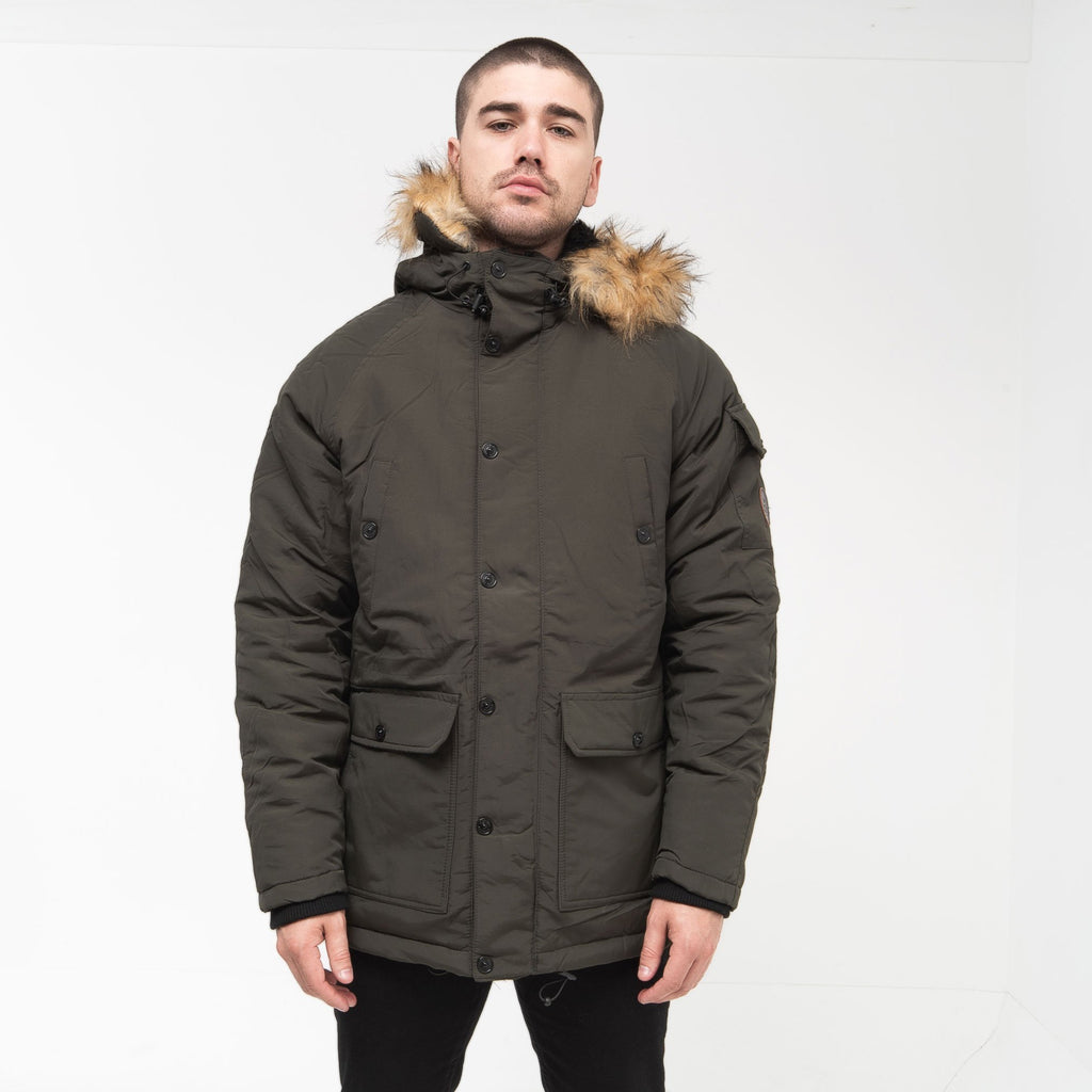 Renzone Parka M / Forest Night Outerwear