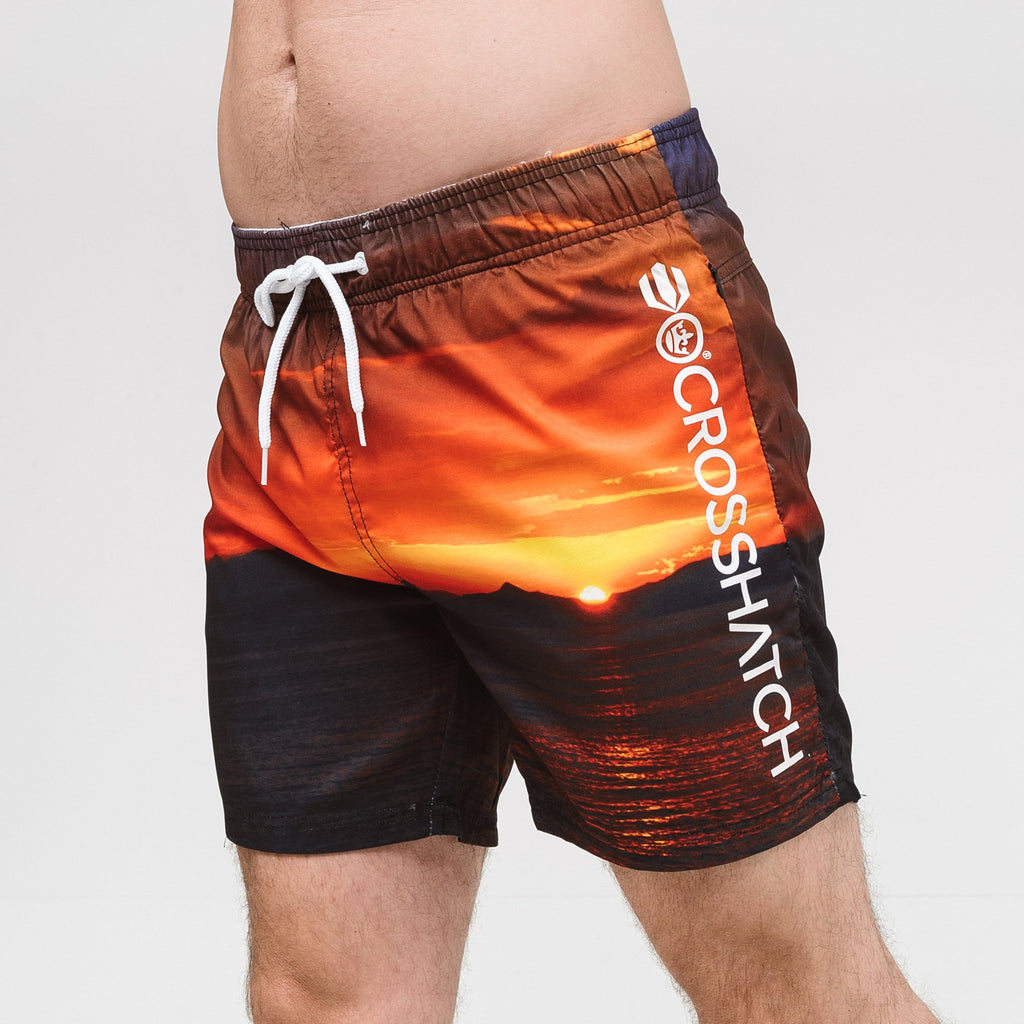 Shelford Swim Shorts S / Sunset