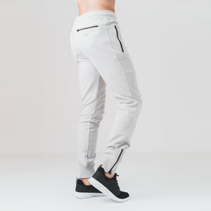 Underline Joggers - Lt Grey Marl