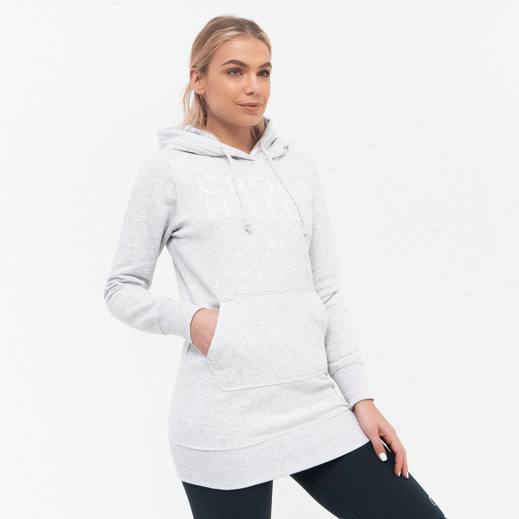 Ladies Vanessa Hoodie Xs / Light Grey Marl Hoodies