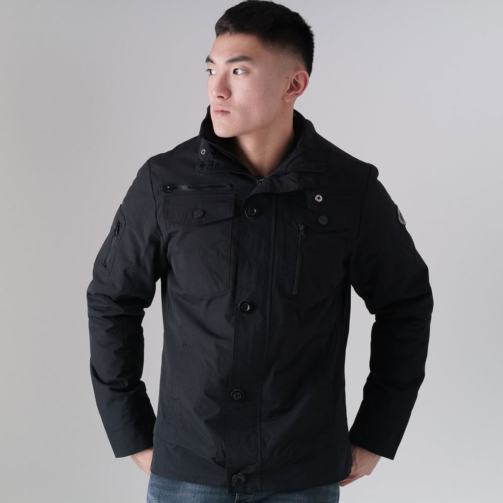 Woodrow Jacket S / Black Outerwear