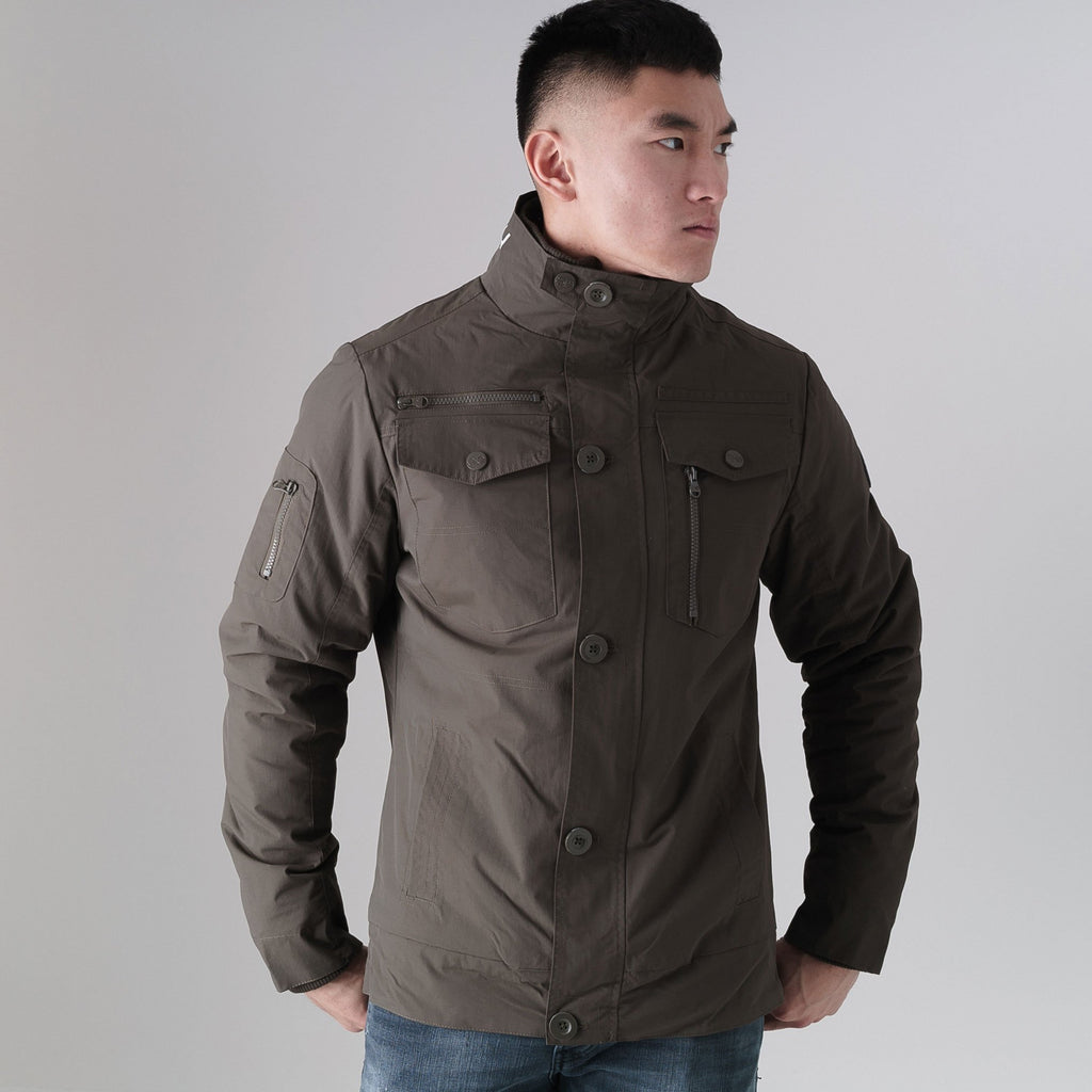 Woodrow Jacket M / Peat Green Outerwear