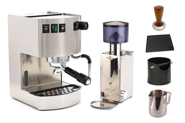 Bezzera Bundle - Hobby, BB005 Grinder & Accessories