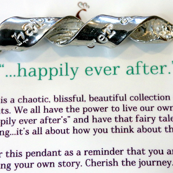 Happily Ever After...Inspiral Pendant