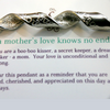 Inspiral Sculpture Pendant ~ A Mother's Love Knows No End