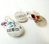 Exponential Mom Pendant  ~ Mom of 3