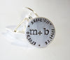 Here and Now Wedding Day Keepsake Cuff Links V2