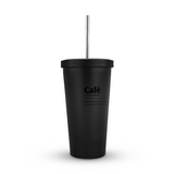 Vaso Mate de acero inoxidable, capacidad 470 ml
