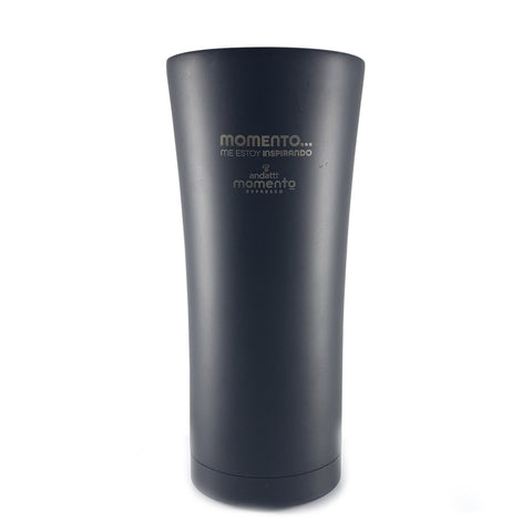 Vaso momento de acero inoxidable con doble pared de 450 ml
