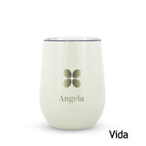 Vasos Destello de acero inoxidable, capacidad 354 ml