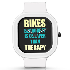 Unisex Men And Women Wrist Watch India | Bikes Because It Is Cheaper Than Therapy Silicone Unisex Wrist Watch For Men And Women Online India