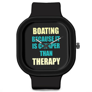 Unisex Men And Women Wrist Watch India | Boating Because It Is Cheaper Than Therapy Silicone Unisex Wrist Watch For Men And Women Online India
