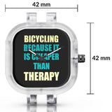Unisex Men And Women Wrist Watch India | Bicycling Because It Is Cheaper Than Therapy Silicone Unisex Wrist Watch For Men And Women Online India