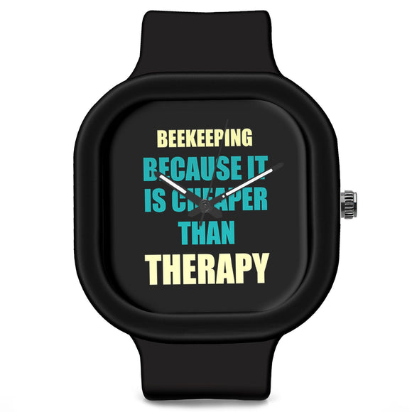 Unisex Men And Women Wrist Watch India | Beekeeping Because It Is Cheaper Than Therapy Silicone Unisex Wrist Watch For Men And Women Online India