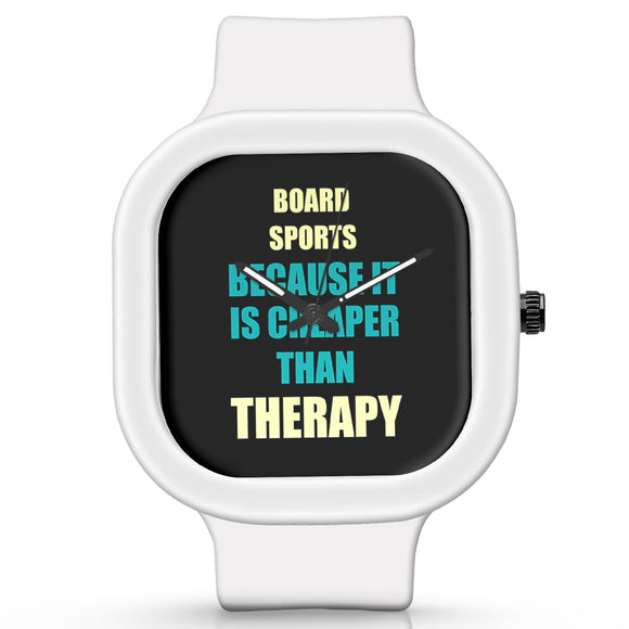 Unisex Men And Women Wrist Watch India | Board Sports Because It Is Cheaper Than Therapy Silicone Unisex Wrist Watch For Men And Women Online India