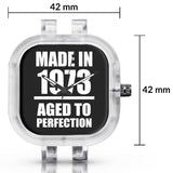 Unisex Men And Women Wrist Watch India | Born in 1973 Aged To Perfection Silicone Unisex Wrist Watch For Men And Women Online India