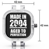 Unisex Men And Women Wrist Watch India | Born in 2004 Aged To Perfection Silicone Unisex Wrist Watch For Men And Women Online India