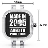 Unisex Men And Women Wrist Watch India | Born in 2005 Aged To Perfection Silicone Unisex Wrist Watch For Men And Women Online India