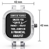 Unisex Men And Women Wrist Watch India | Always Be Your Self, Unless You are a Financial Analyst Silicone Unisex Wrist Watch For Men And Women Online India