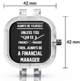 Unisex Men And Women Wrist Watch India | Always Be Your Self, Unless You are a Financial Manager Silicone Unisex Wrist Watch For Men And Women Online India