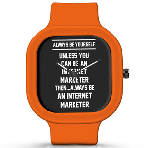 Unisex Men And Women Wrist Watch India | Always Be Your Self, Unless You are an Internet Marketer Silicone Unisex Wrist Watch For Men And Women Online India