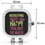 Unisex Men And Women Wrist Watch India | Beekeeping Makes Me Happy, You Not So Much Silicone Unisex Wrist Watch For Men And Women Online India
