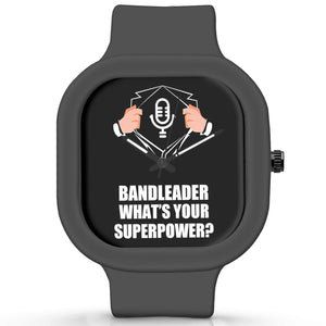 Unisex Men And Women Wrist Watch India | Bandleader What's Your Superpower? Silicone Unisex Wrist Watch For Men And Women Online India