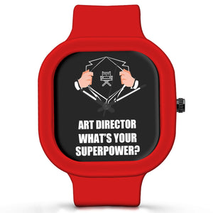 Unisex Men And Women Wrist Watch India | Art Director What's Your Superpower? Silicone Unisex Wrist Watch For Men And Women Online India