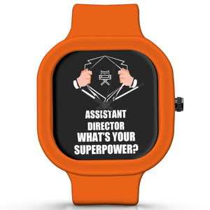 Unisex Men And Women Wrist Watch India | Assistant Director What's Your Superpower? Silicone Unisex Wrist Watch For Men And Women Online India
