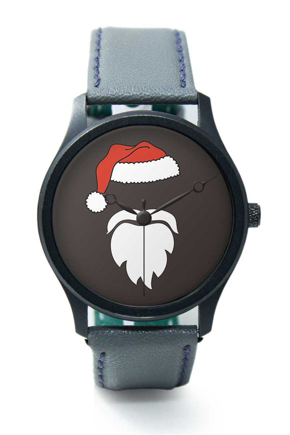 Wrist Watches India |Minimal Santa Claus Illustration Premium Men Wrist WatchOnline India.